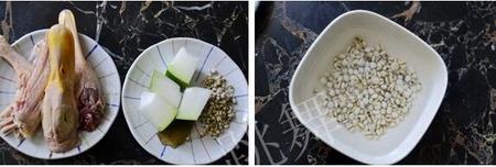 薏米冬瓜老鸭汤的做法步骤3-4