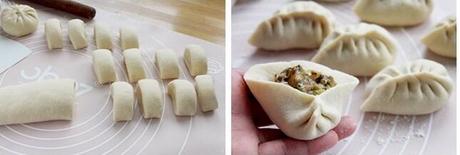 西葫芦牛肉包子的做法步骤6-7