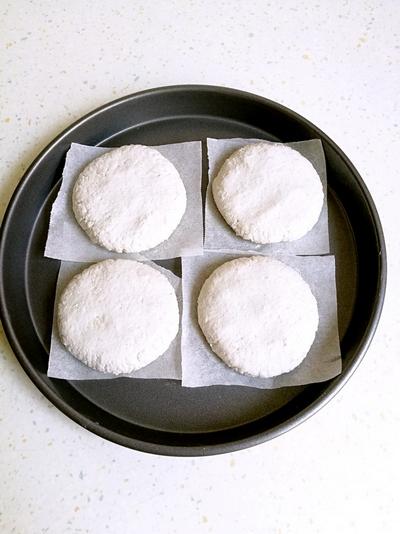 清香藕饼的做法步骤7