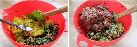 西葫芦牛肉包子的做法步骤4-5