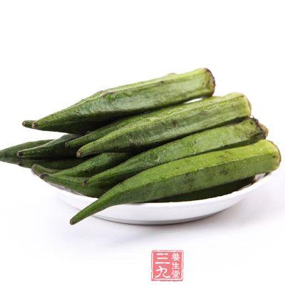 黄秋葵中的果胶、多糖和SOD具有保护皮肤