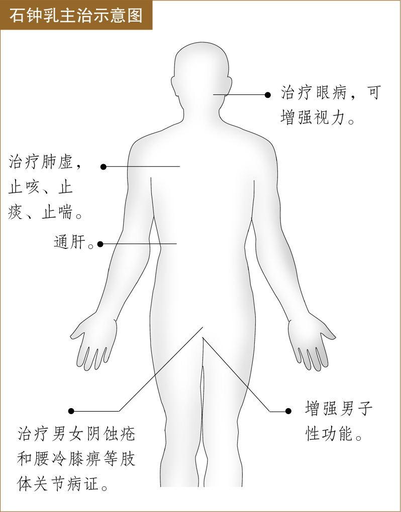 石钟乳的功效与作用